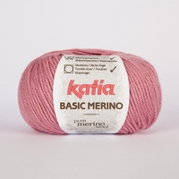 Basic Merino - Medium Bleekrood