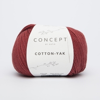 Cotton yak - Rood