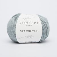 Cotton yak - Hemelsblauw