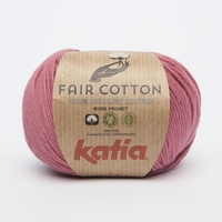 Fair cotton - Framboosrood