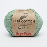 Fair cotton - Mintgroen