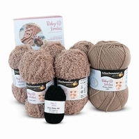 Yarn-set for 1 baby smiles blanket - kamel