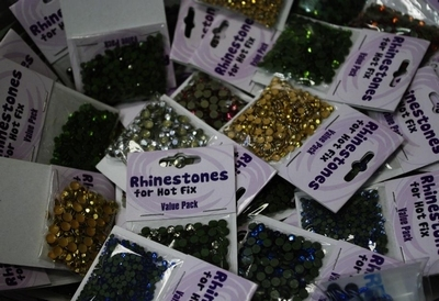 Rhinestones for hot fix