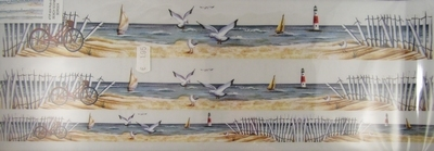 Transfers Beach scene border