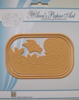 Cutting & Embossing Stencil, Butterfly-1